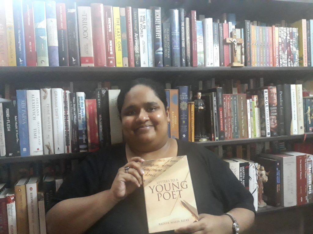 Fiza Pathan bookshelf
