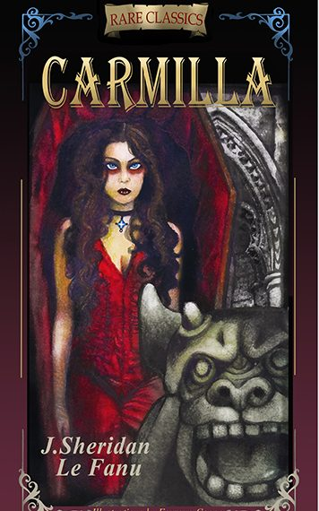 CARMILLA: Abridged with new black and white illustrations
